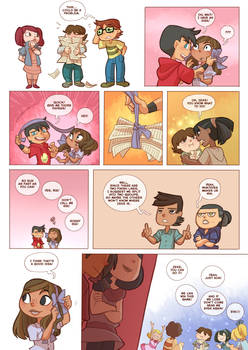 Total drama kids comic pag 50