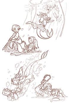 Total drama fantasy sketch 7