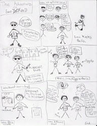 Lou Reed comic by soullove