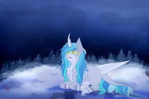 YCH - Fragile snowflake [Luminescence]