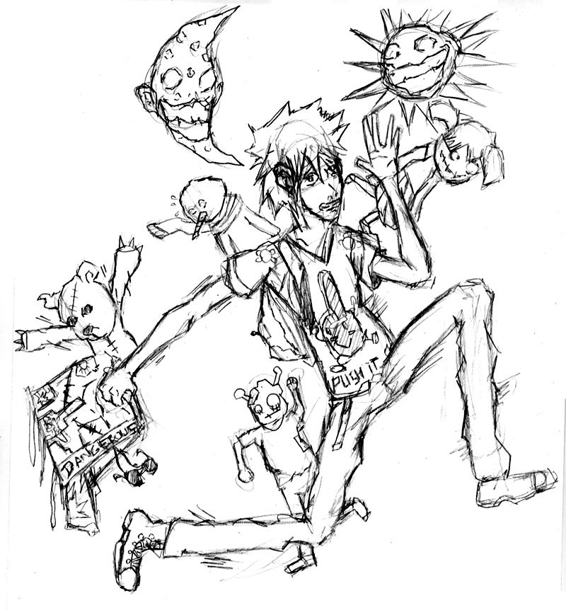 [Manga]Zen Shochuu! et autres dessins de Daxter Scraps_illustration_by_Daxtruction