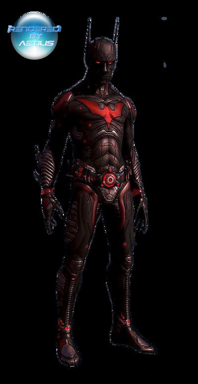 Batman Beyond Render by Victor76
