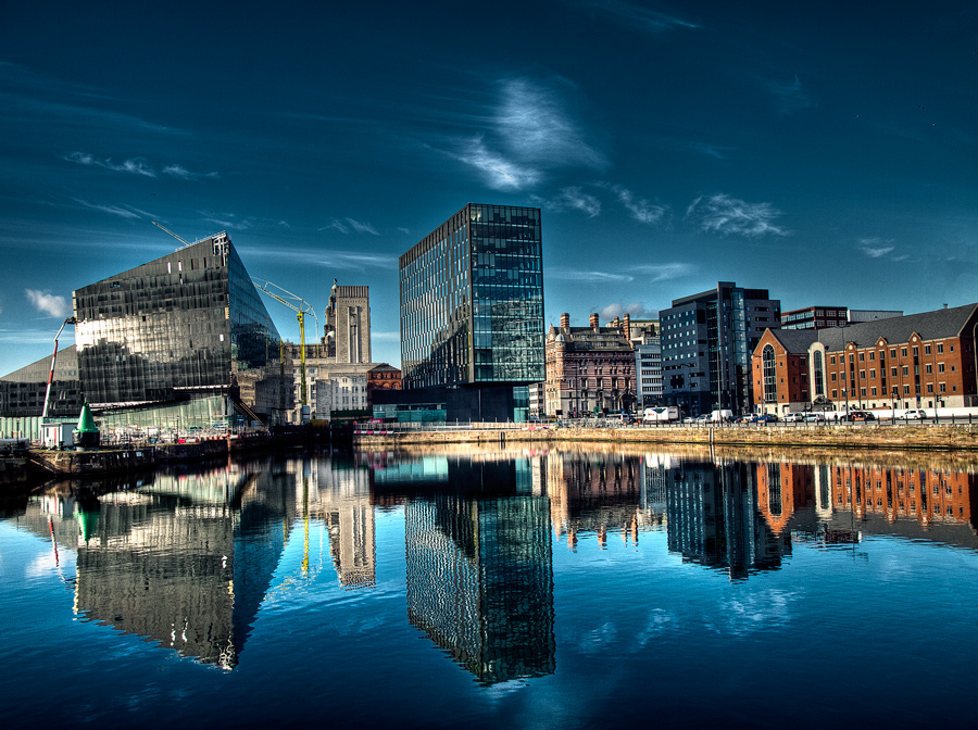 Liverpool, coast, HDR by psycho-infinity