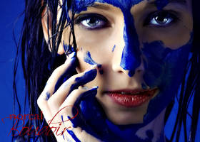 Blue Paint 2 by xKarexBearx