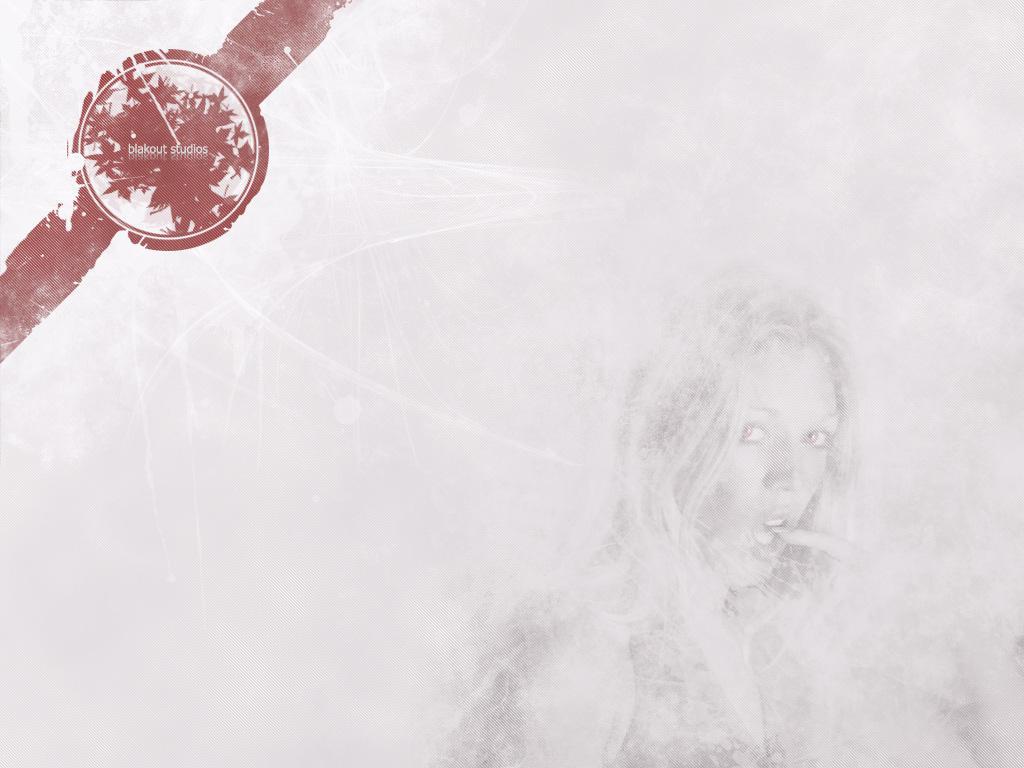 Grungy Lady by BlakoutStudios