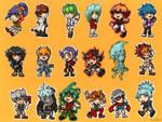 Stickers Yu-Gi-Oh!