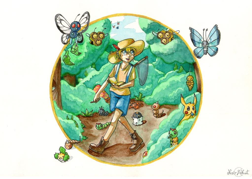 Promenons-nous dans les bois by Ichig0Minako