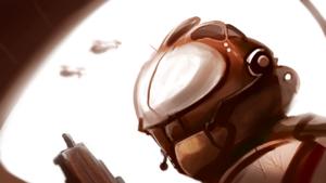 30 Min Desert Pilot Speedpaint by ZaneZansorrow