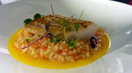 Risotto with Roasted Fish