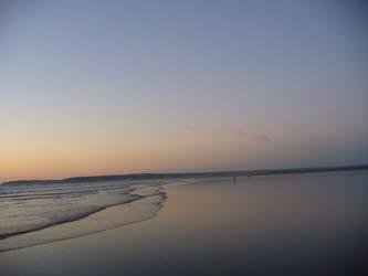Calm sunset by rimolyne
