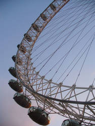 The London Eye by rimolyne