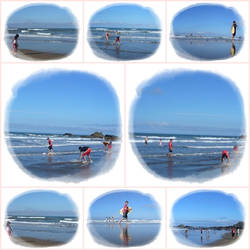 Funky beach