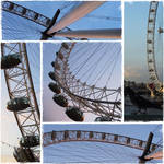 The Millennium Wheel by rimolyne