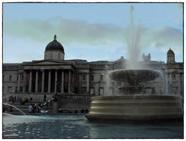 Trafalgar Square 2008 by rimolyne