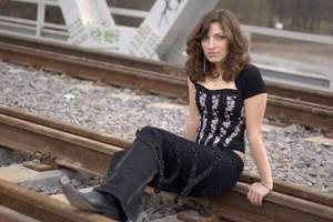 Train tracks and corset
