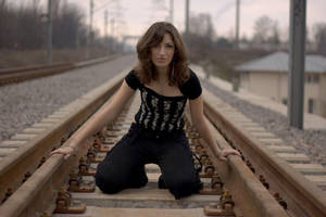 Train tracks and corset 2 by rimolyne