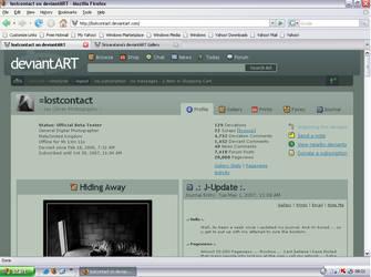 lostcontact 20,000 views by rimolyne