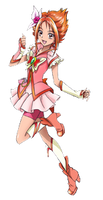 Cure Rounge Render