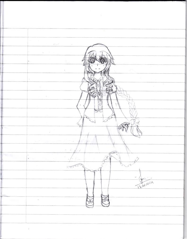 Yamai Yuzuru by animelovers4816