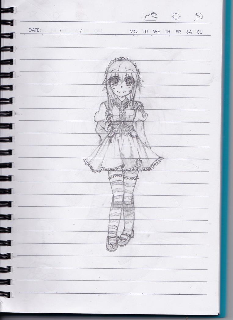 Maid Kaguya~ by animelovers4816