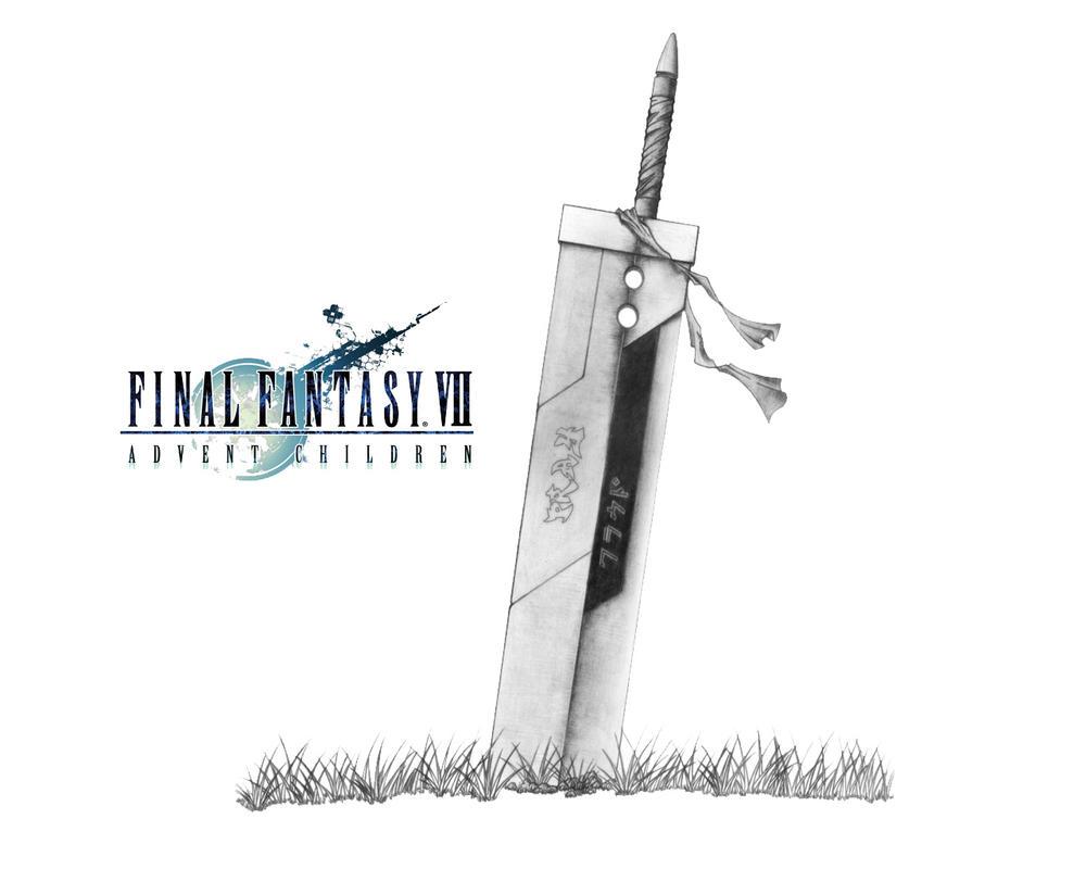 Sword Final Fantasy VII:AC by Wolinpiotr