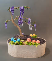 Origami Bonsai by The-Elven-Artisan