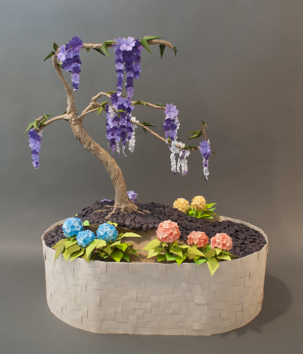 origami bonsai by theelvenartisan on deviantart