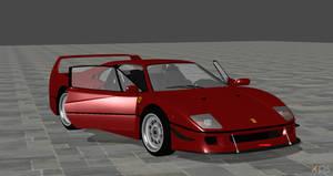 1987 Ferrari F40 For XPS