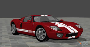 2005 Ford GT for XPS by noonenothing