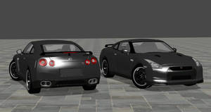2010 Nissan GT-R SpecV For XPS by noonenothing
