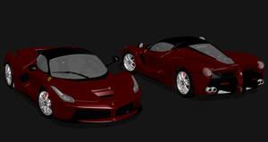 2013 Ferrari LaFerrari For XPS by noonenothing