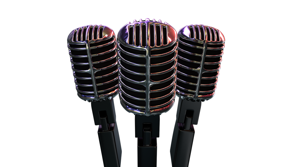 Retro Mic render by Prowhiz