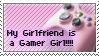 My Girlfriend is a Gamer Girl by d-shade