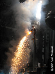Rammstein - Pouring fire