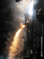 Rammstein - Pouring fire by ScarlettHexxn