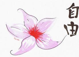 Freedom flower by Mymeke