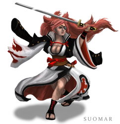 Baiken (Game-Art-HQ Project) by SUOMAR