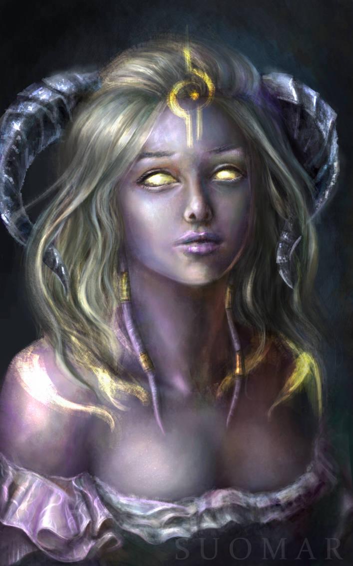 Lightforged Draenei by SUOMAR
