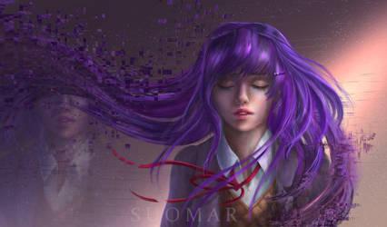 Yuri (Doki Doki Literature Club) by SUOMAR