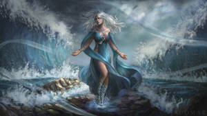 Rihanna, the Siren (Raffle prize) by SUOMAR