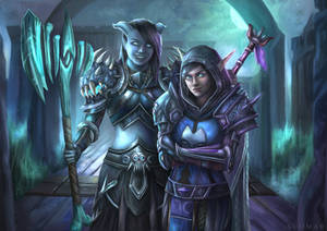 Jadein and Elektra [C]