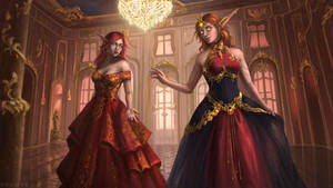 Alarianna and Leyloria [C]