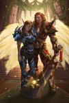Aelariana and Luces [C]