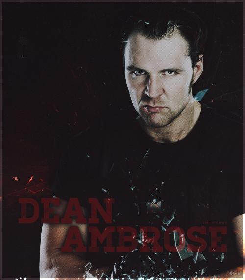 Dean Ambrose Poster By Osbourni On DeviantArt