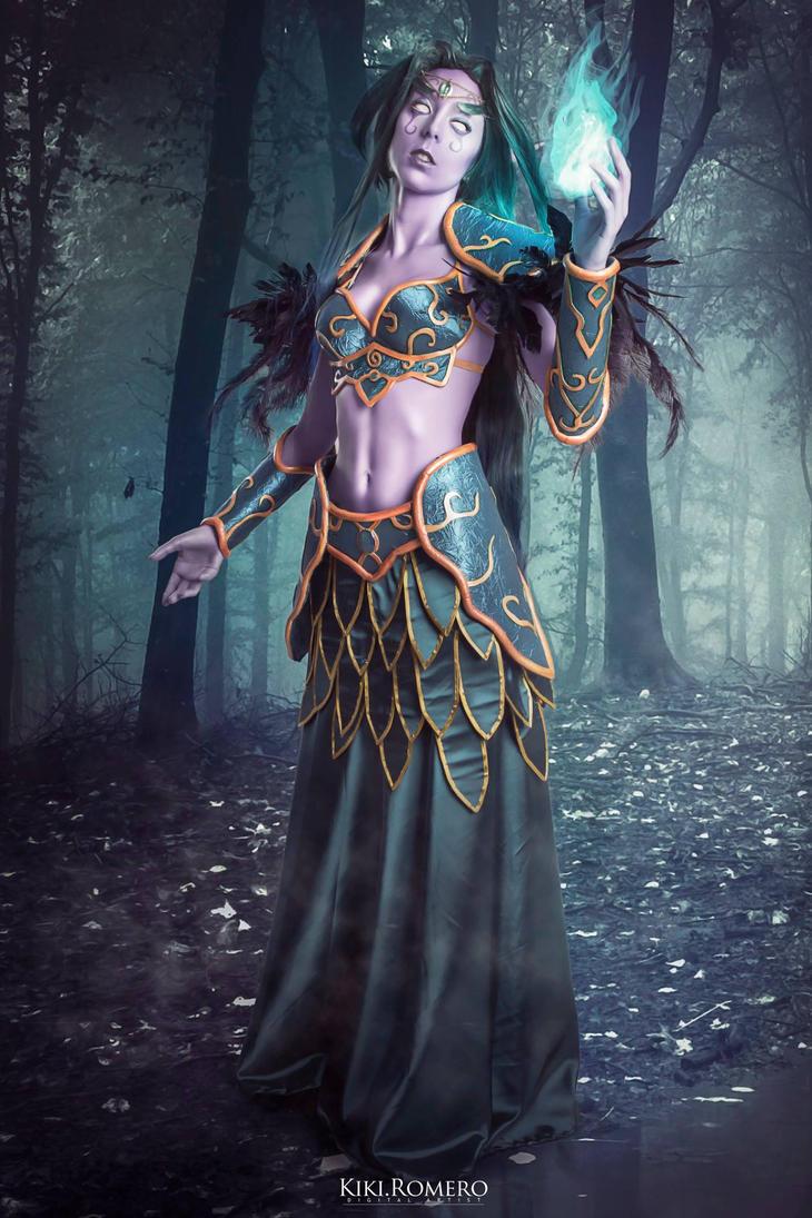Wow dark elf naked virgin
