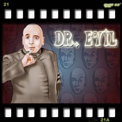 Dr. I'm to Friggin Evil by creepinowl