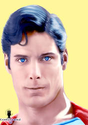 Christopher Reeves by creepinowl