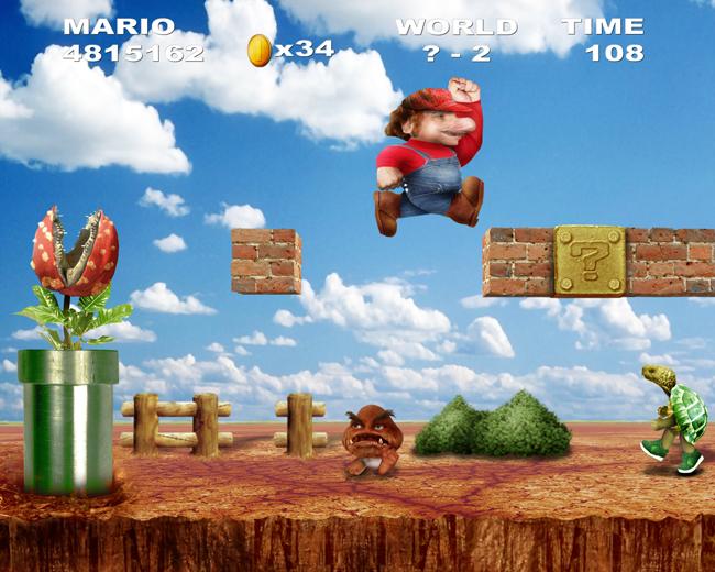 Real Mario Bros by S-cape144