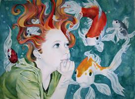 Fishy Love Love by Kiuneriar
