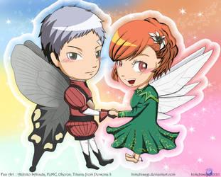 Akihiko and Minako in cosplay